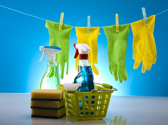 types of cleaning supplies