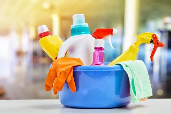 essential cleaning products