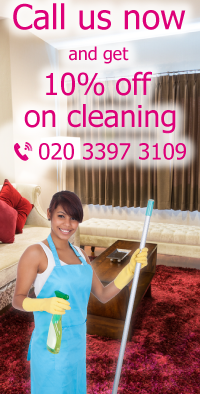 Get 10% Off on Cleaning in Harringay