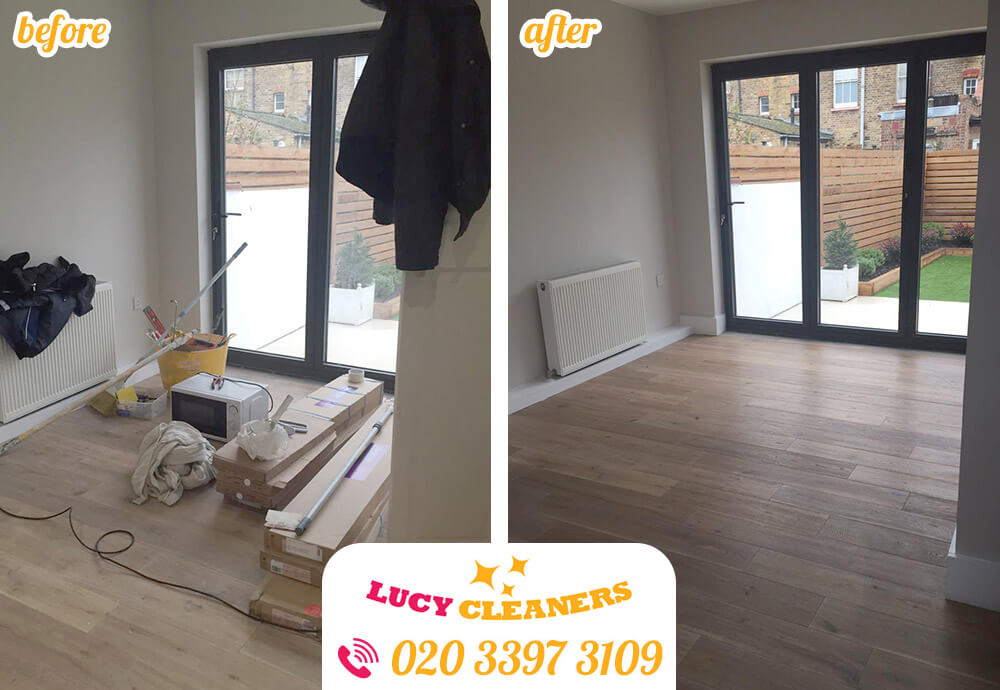 Silvertown apartment cleaning E16